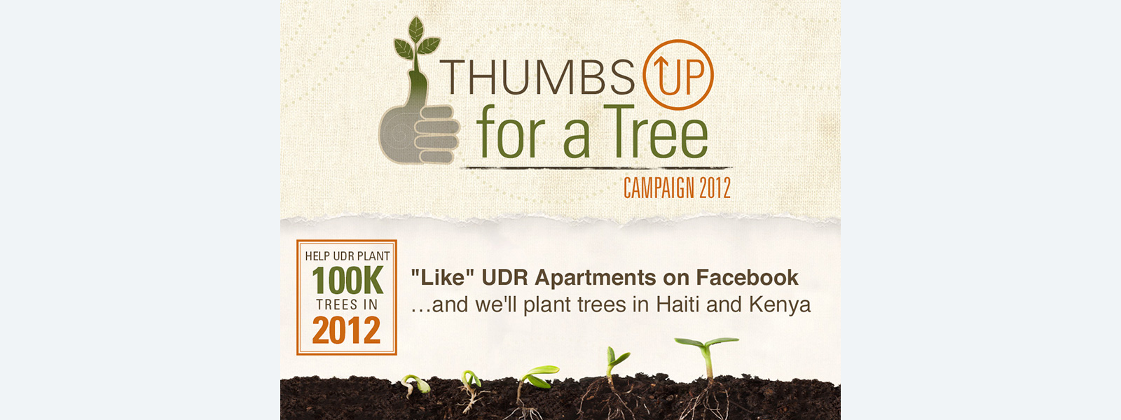 """Thumbs Up for a Tree"""